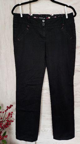 Spodnie HOUSE czarne w prążki M