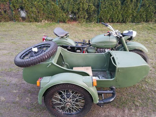 Ural 650 Z Wózkiem.Rusek.Odrestaurowany.Oclony.Opłacony.Dniepr K750