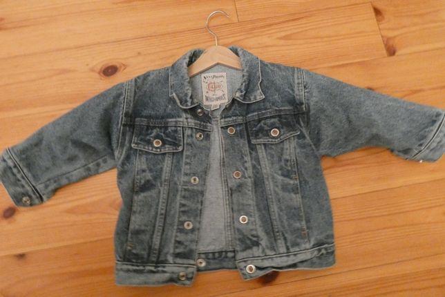 jeans kurtka rozmiar 92 dla chłopca