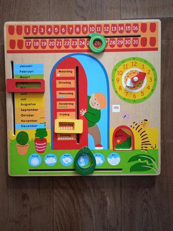 6 в 1 деревянная развивающая игра