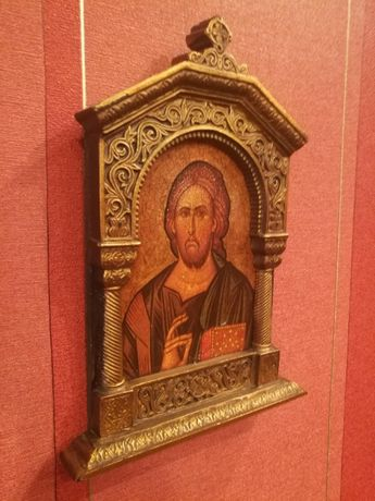Święta ikona Chrystus Pantokrator, ołtarzyk Tanio