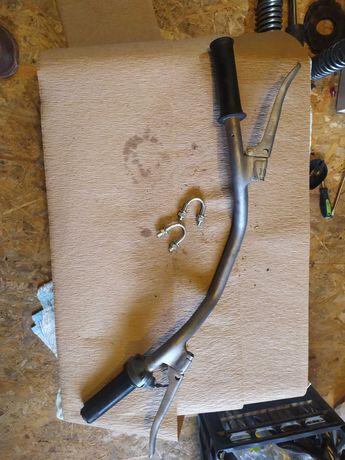 kierownica WSK 125 WFM 175 klamka manetka hamulca rolgaz rączka