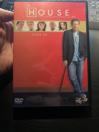 DVD - 3ª Temporada Dr. House (Usado)