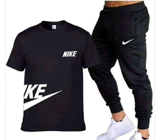 Dres Zestaw Męski Nike spodnie plus koszulka M L XL XXL Karl Lagerfeld