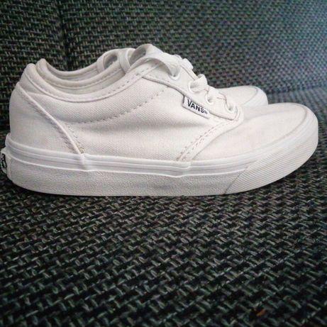 Białe vansy rozmiar  32