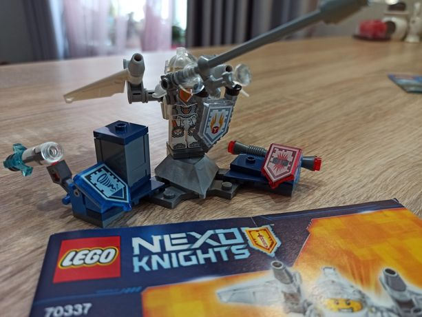 Блоковий конструктор LEGO NEXO KNIGHTS Ланс Абсолютная сила (70337)