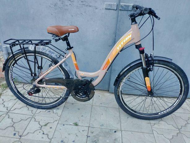 Не пропусти! Акция! Городской алюминиевый велосипед 26 Titan ELITE
