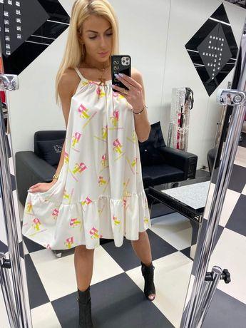 PF Sukienka paparazzi fashion letnia zwiewna