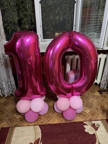 Цифра 10 на День рождение