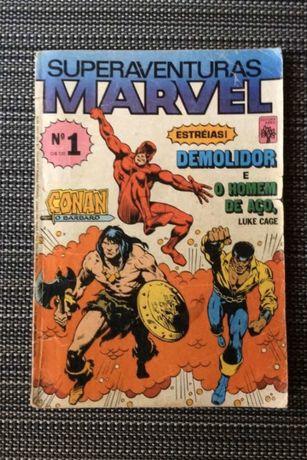 Rarissimo Superaventuras Marvel n. 1