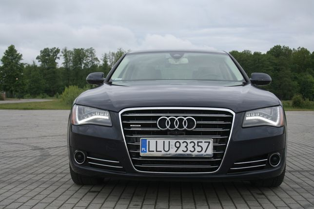 Audi A8L 4.0TFSI V8 540KM. Full Opcja