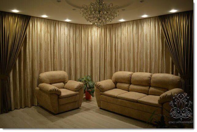 Дизайн и пошив штор и ламбрекенов любой сложности и другого текстиля.