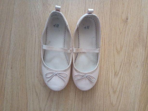 Baleriny/pantofelki H&M, rozm. 30 (12UK)