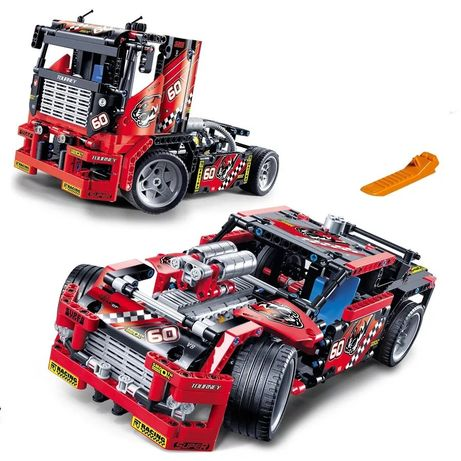 Lego/ Лего конструктор/ Грузовик-Гоночный авто/  2 в 1/Decool 3360