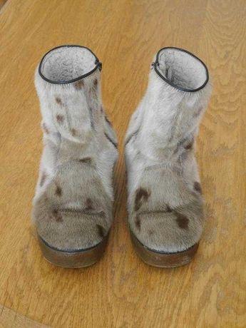Унти-чоботи з тюленя на 42-43 розмір стелька 28,3 см metzeler
