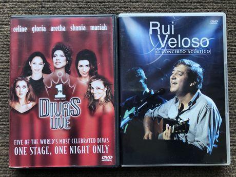 2 DVD Rui Veloso - Divas Live