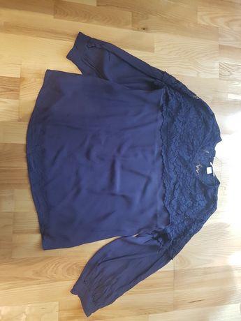 Bluzka H&M, rozmiar L ciążowa granatowa masło do ciała Ziaja mamma mia
