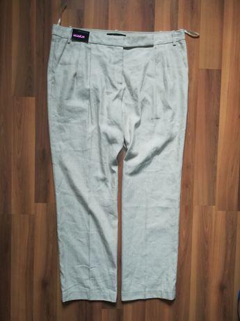 Spodnie _len-bawełna _48
