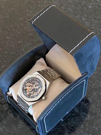 Relógio Automático Audemars Piguet Royal Oak Prateado