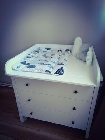 Przewijak Ikea koppang na komodę biały