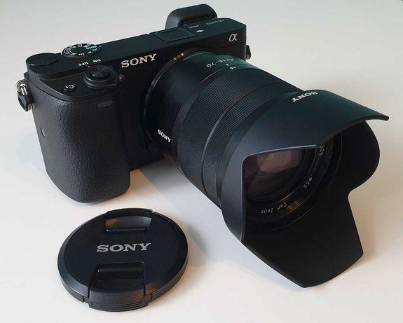 Aparat Sony a6300 z obiektywem Vario-Tessar T* E 16 – 70 mm F4