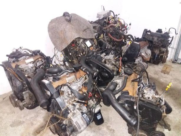 двигун мотор дизельний гольф2 3 пассат ауді сеат фольксваген т4 т3