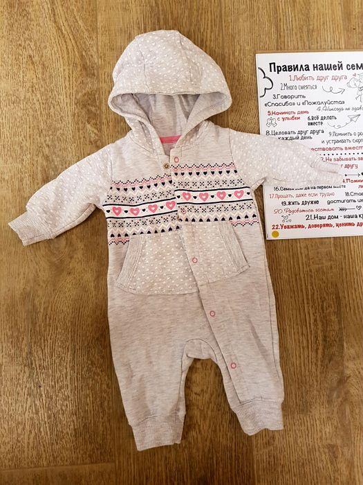 Ромпер человечек для новорожденных 62размер Одесса - изображение 1