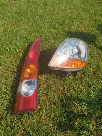 Lampa Renault Kangoo 03r. Lewy przód, tył