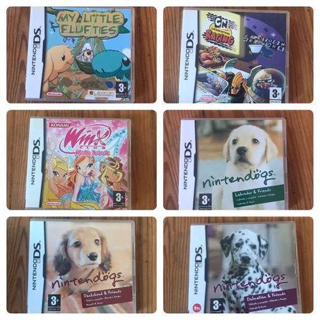 Jogos Nintendo DS com caixa
