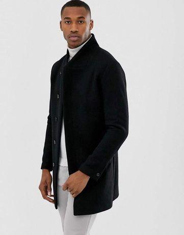 Płaszcz czarny Jack&Jones Premium