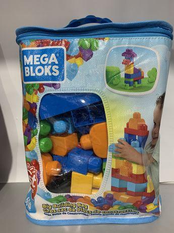 Конструктор Mega Bloks First Builders 60 деталей Fisher-Price мега бло
