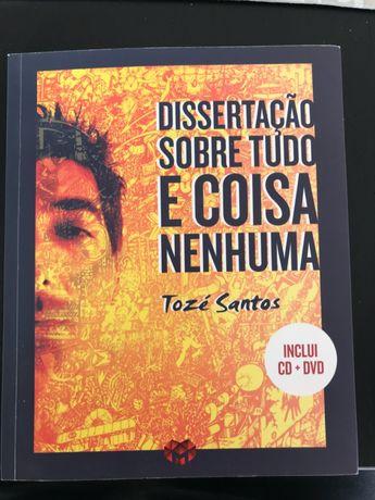 Dissertação sobre tudo e coisa nenhuma CD + DVD - Tozé Santos