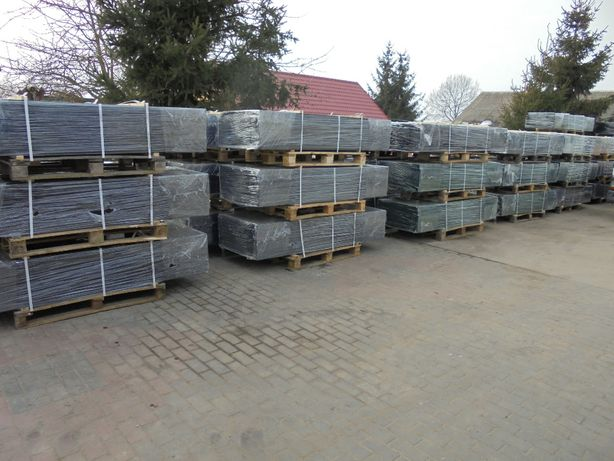 Słupki/Słupek/Panel/Panele ogrodzeniowe 60x40x1,25mm Ocynk +kolor brąz