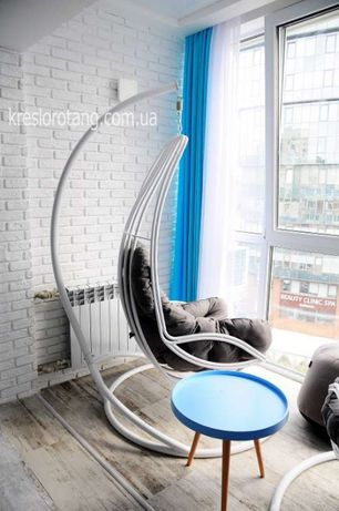 Кресло подвесное Дели. Фабрика! Гамак в дом. Качеля стальная, садовая.