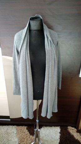 Kardigan długi sweter damski S