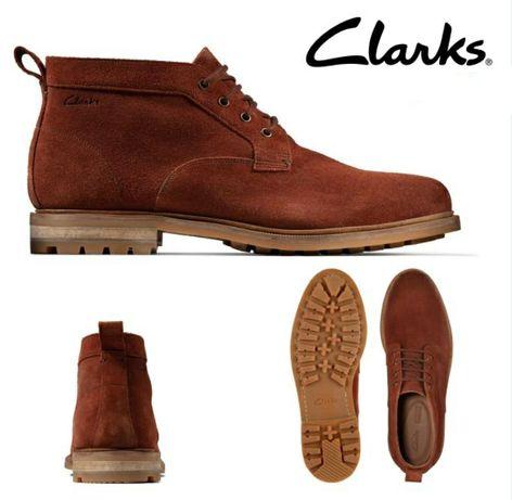 Замшеві ботинки чоловічі Clarks