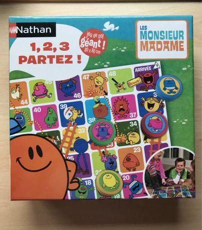 Jogo Nathan - 1, 2, 3 Partez! Les Monsieur Madame