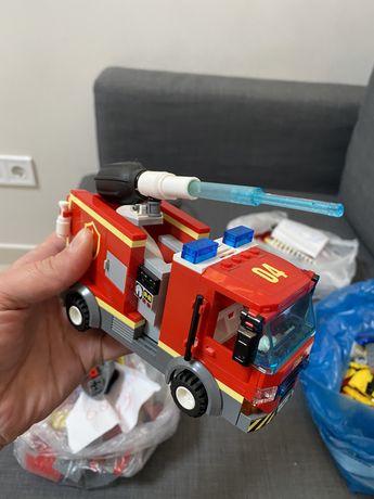 Lego city пожарные спасатели
