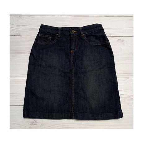 Джинсовая юбка размер S рост 165 см в очень хорошем состоянии