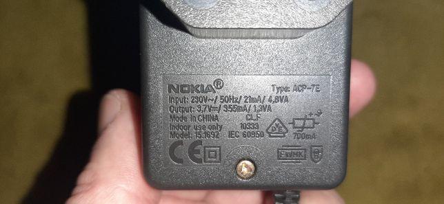Sprzedam oryginalną ładowarke NOKIA ACP-7E INPUT AC-230V-50HZ