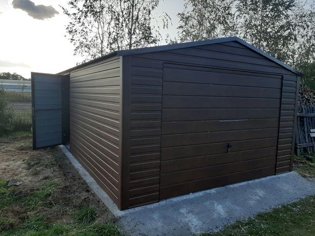 Garaż Blaszany Jednostanowiskowy - Garaże Blaszane , wiaty , hale ,