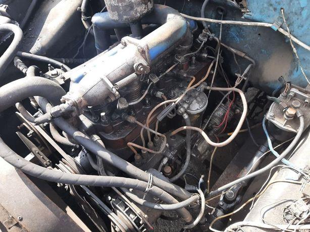Продам робочий мотор д-240 ЗИЛ з коробкою, гідроусілітєль і редуктором