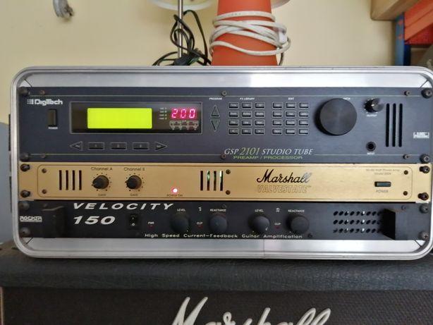 Pré Amp Digitech/Power Amps Marshall+Rocktron
