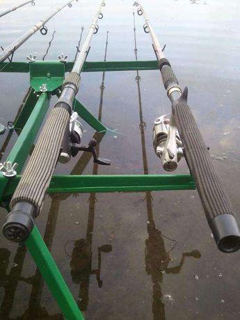 4 Fishing Rods (оцинкованная подставка для удилища)