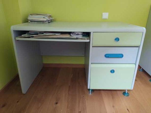 Meble dziecięce zielono-szare BRW -biurko