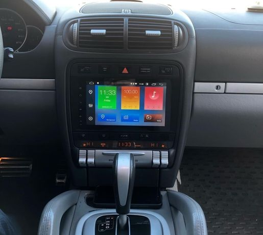 Auto Rádio Porsche Cayenne Multimédia Android GPS Bluetooth Wi-fi