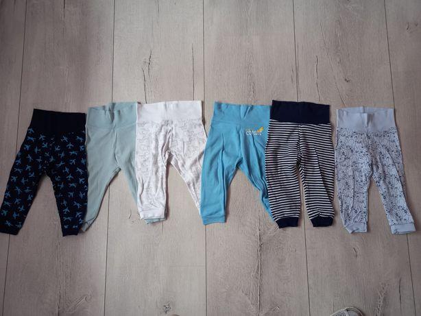 Spodenki dresy dla chłopca 74/80 zadbane
