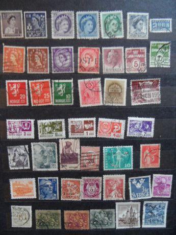 stare znaczki pocztowe każdy inny