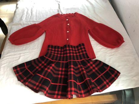 Костюм, кофта, юбка 110