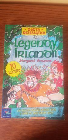 Książka legendy Irlandii